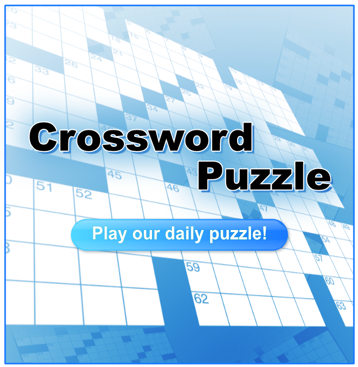 Play our crossword puzzle
